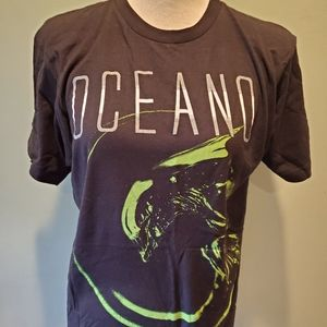 Oceano Alien Xenomorph Graphic Band Tee